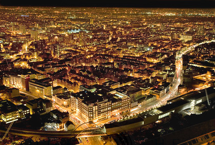 The City of London at night - Looking North East from Broadgate Tower2