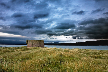 Martello Tower Lough Foyle N Ireland 