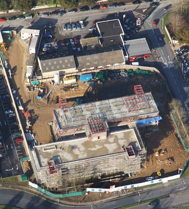 Aerial view Dec 2 