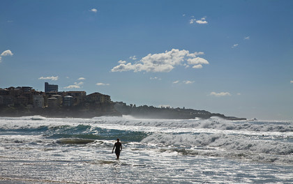 Surf s up, Manly Beach